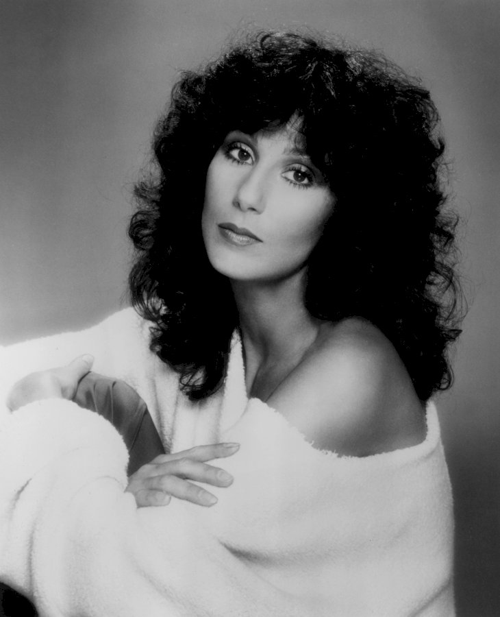 Image Credit: Getty Images / Cher at a photo shoot.