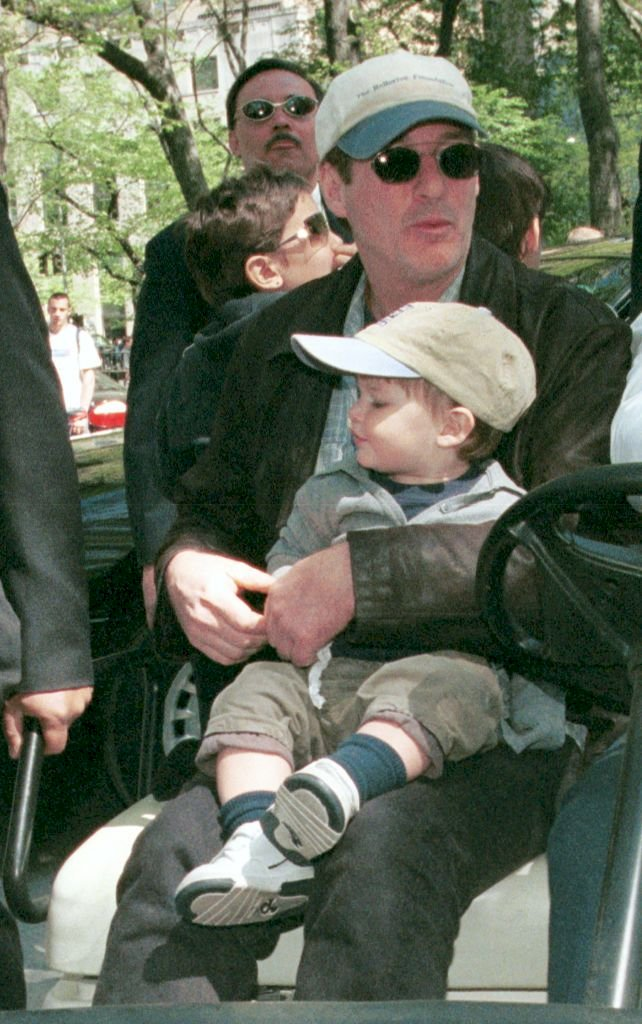 Richard Gere and his son Homer Gere/Photo:Getty Images