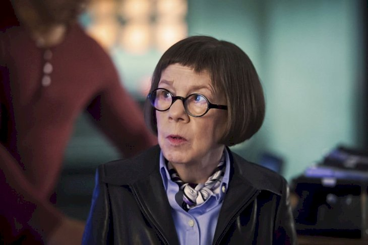 "Image Credit: Getty Images/Ron P. Jaffe/CBS via Getty Images | Linda Hunt as Henrietta ""Hetty"" Lange from NCIS"