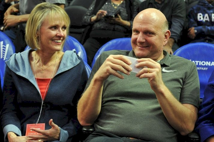 Image Credits: Getty Images / Allen Berezovsky | Connie Ballmer and Steve Ballmer.