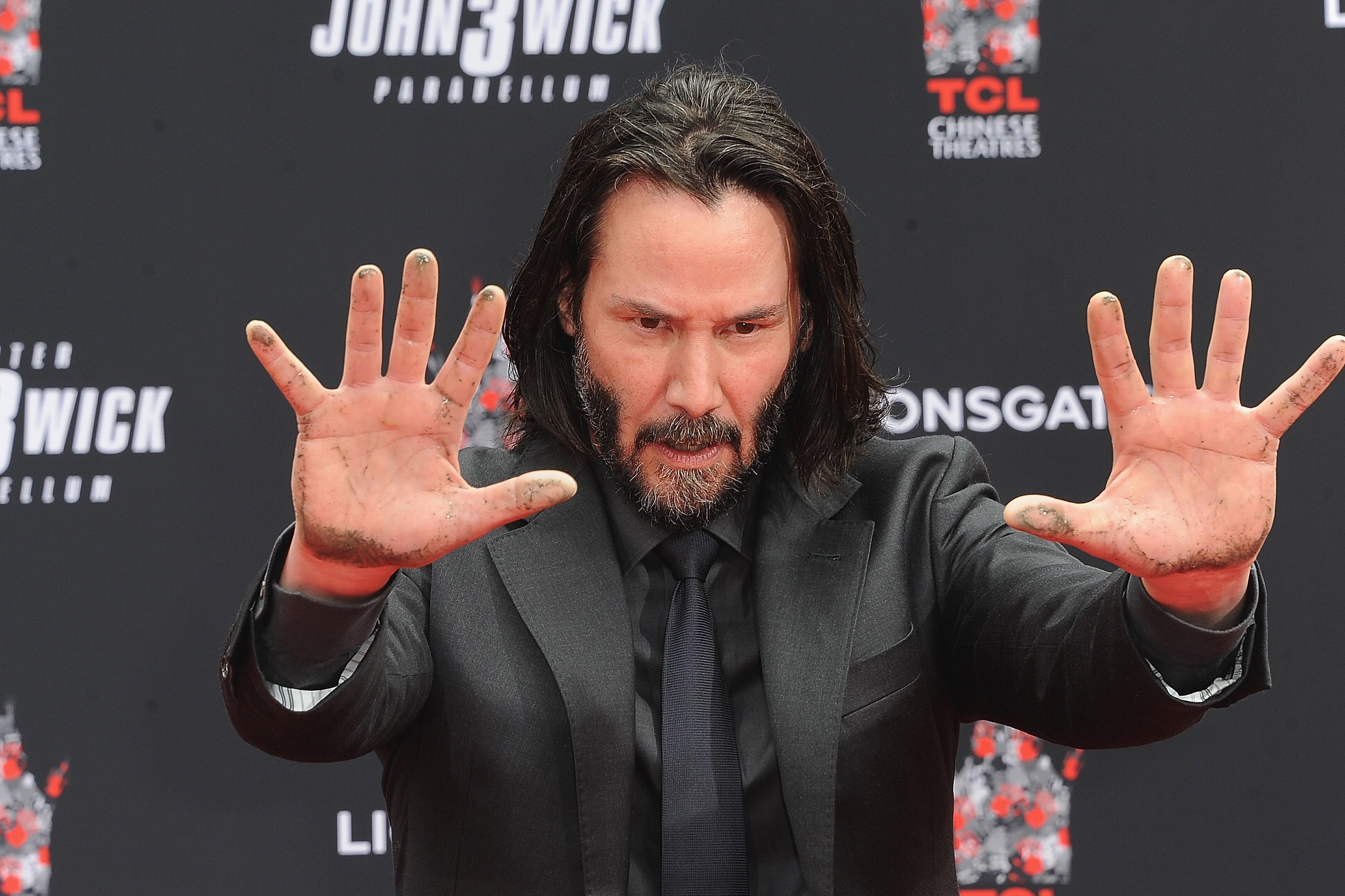 Image Credits: Getty Images | Keanu is a believer