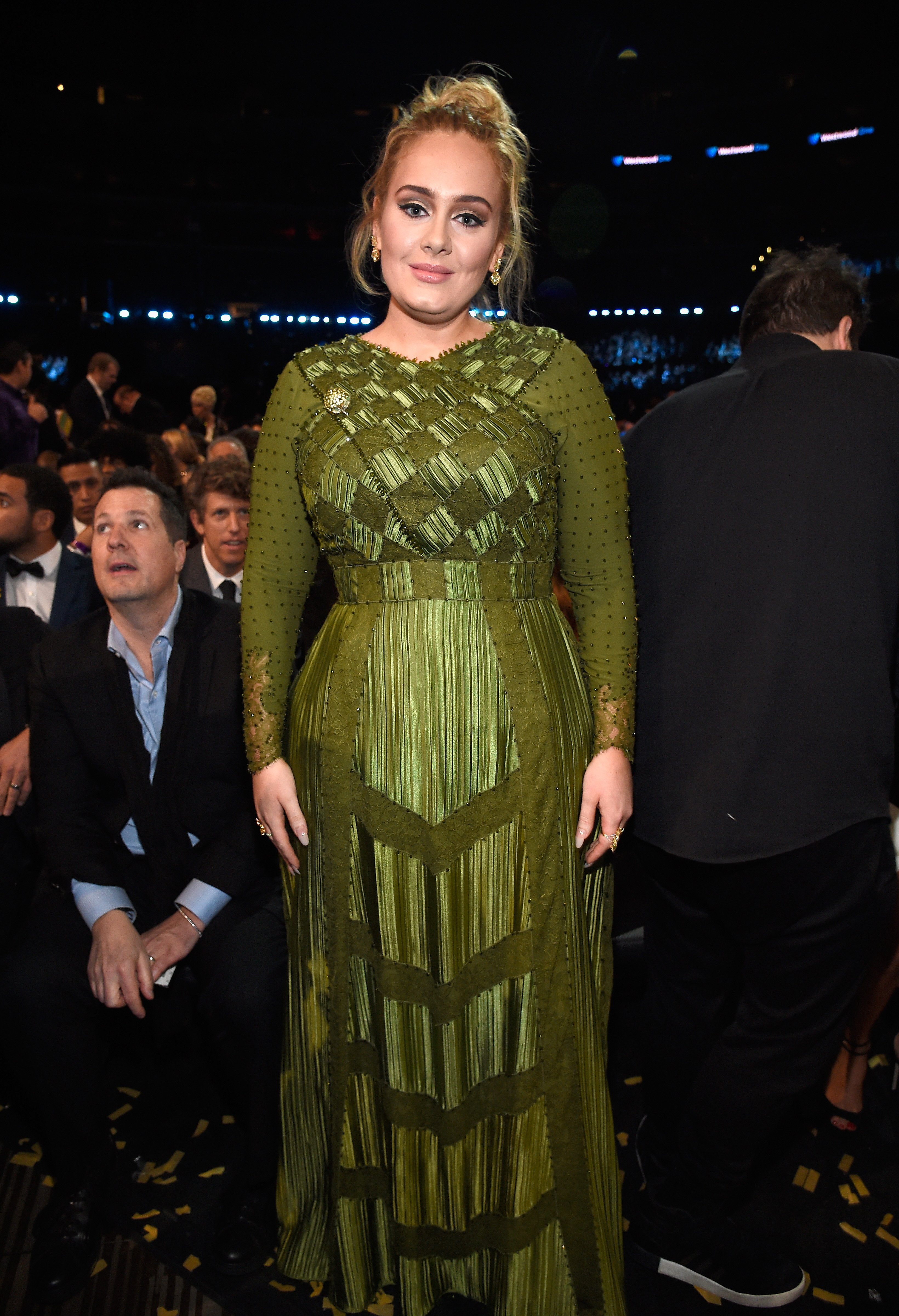 Image Credit: Getty Images / Adele at an event.