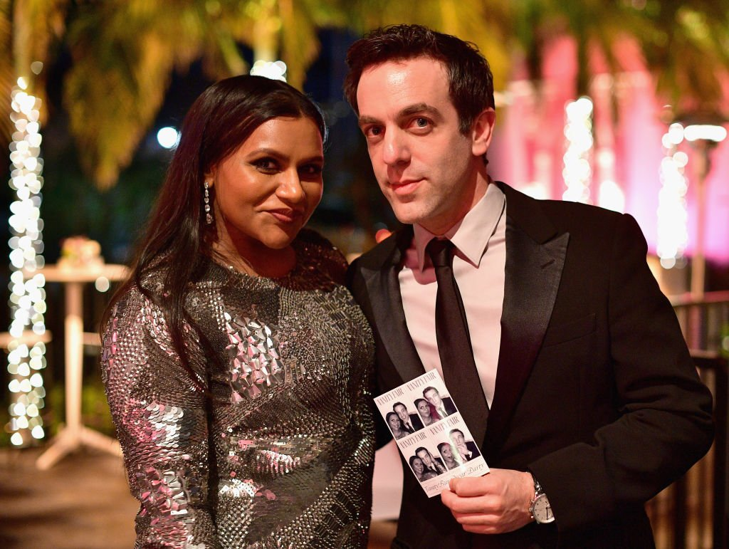 Image Source: Getty Images/Matt Winkelmeyer/VF19/Mindy Kaling (L) and B. J. Novak attend the 2019 Vanity Fair Oscar Party hosted by Radhika Jones at Wallis Annenberg Center for the Performing Arts on February 24, 201