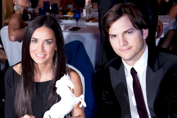 Image Credit: Getty Images/GC/Victor Boyko |  Demi Moore and Ashton Kutcher attend the Charity Gala