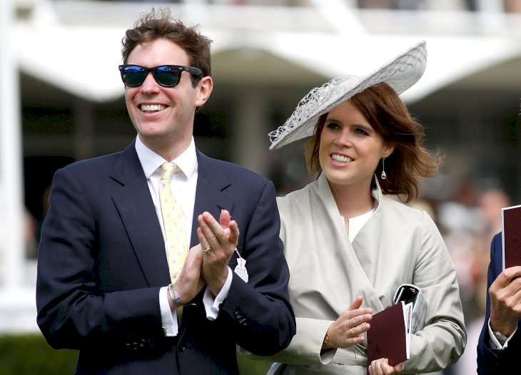 Image Credit: Getty Images / Princess Eugenie and Jack Brooksbank at a public event.