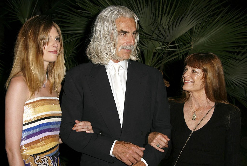 Image Source: Getty Images/WireImage/Jeff Vespa | Sam Elliot, Katharine Ross and their daughter Cleo Rose at 2007 Sundance Film Fesitval