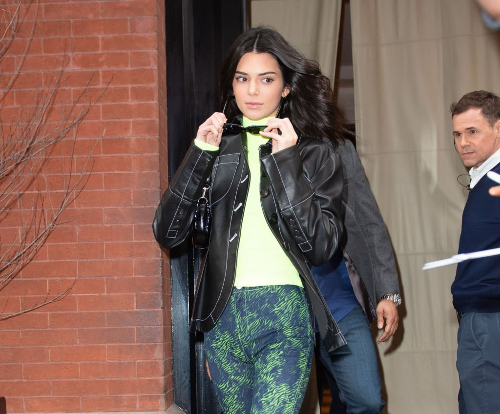Image Credit: Getty Images / Kendall Jenner seen leaving her hotel on February 8, 2019 in New York.