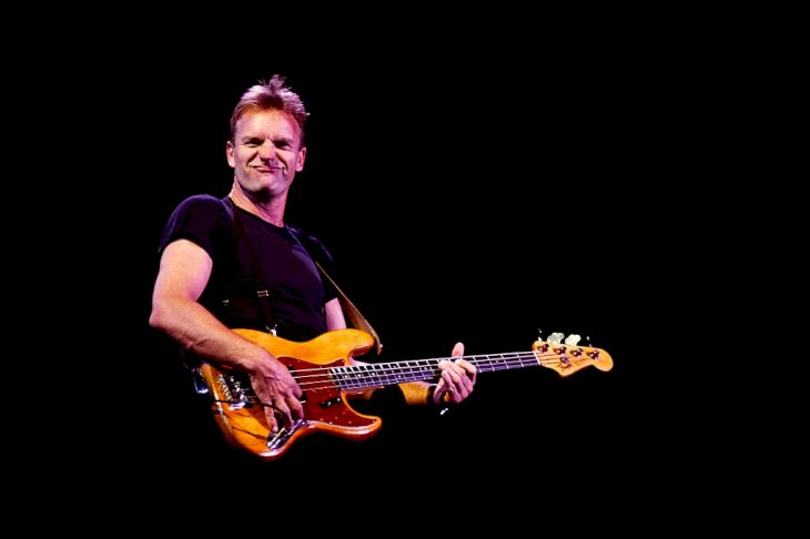 Image Credit: Getty Images/Sygma via Getty Images/Sygma/Alberto Pizzoli | Singer and guitarist Sting in concert in Rome.
