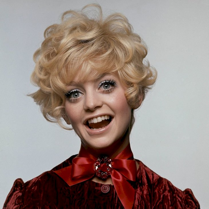 Image Credit: Getty Images / Goldie Hawn in the 60's.