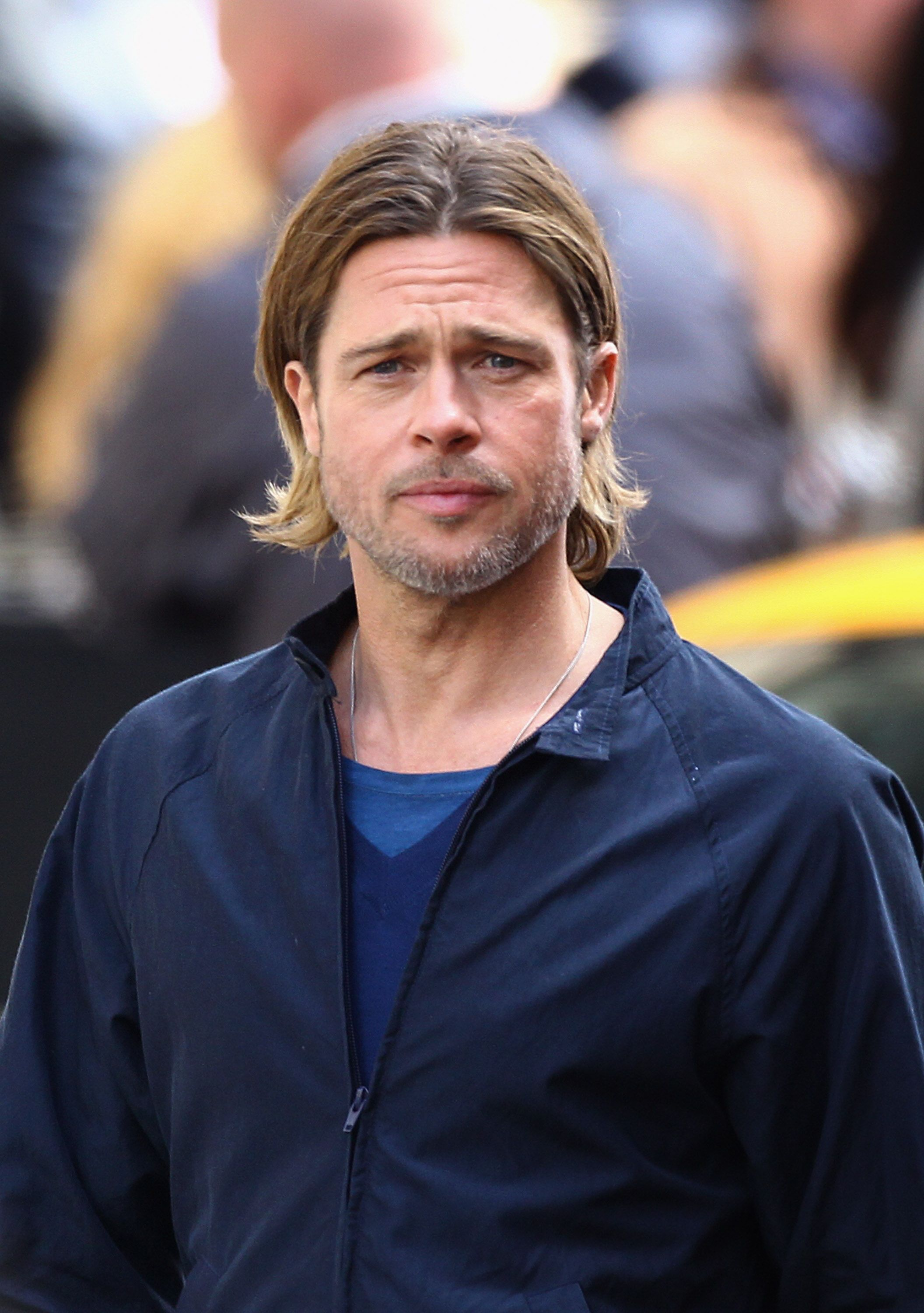 Brad Pitt was twice named the sexiest man alive / Getty Images