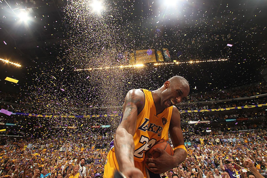 Image Credit: Getty Images / Kobe Bryant #24 of the Los Angeles Lakers playing in the NBA.