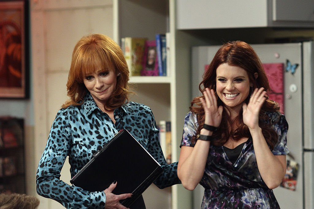 Image Credit: Getty Images / REBA MCENTIRE and JOANNA GARCIA on ABC's Better With You.
