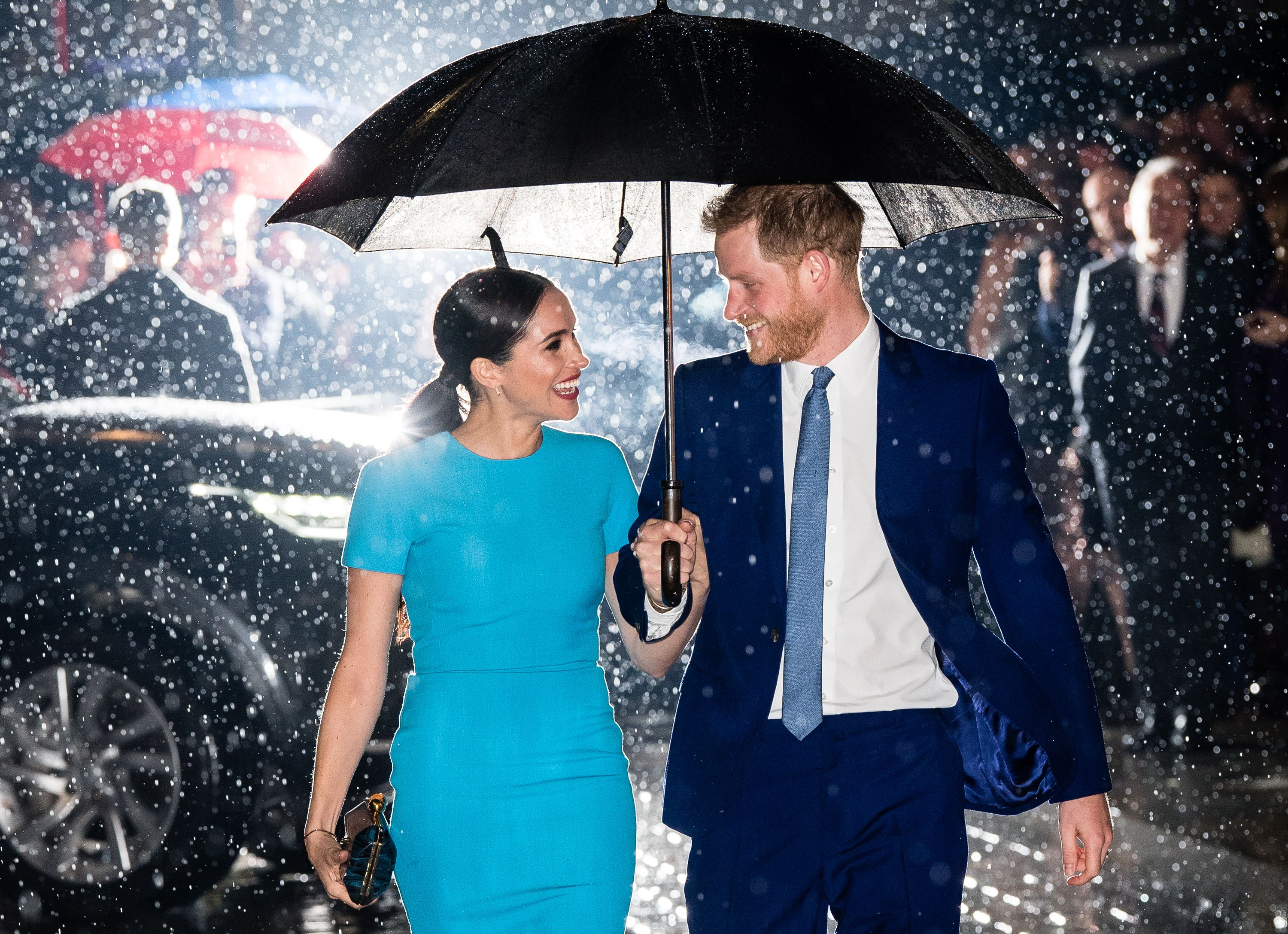 Prince Harry and Meghan Markle are off to a happy new start in the USA / Getty Images