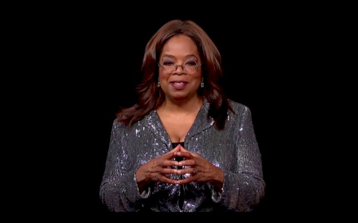 Image Credit: Getty Images / Oprah Winfrey speaks at an event.