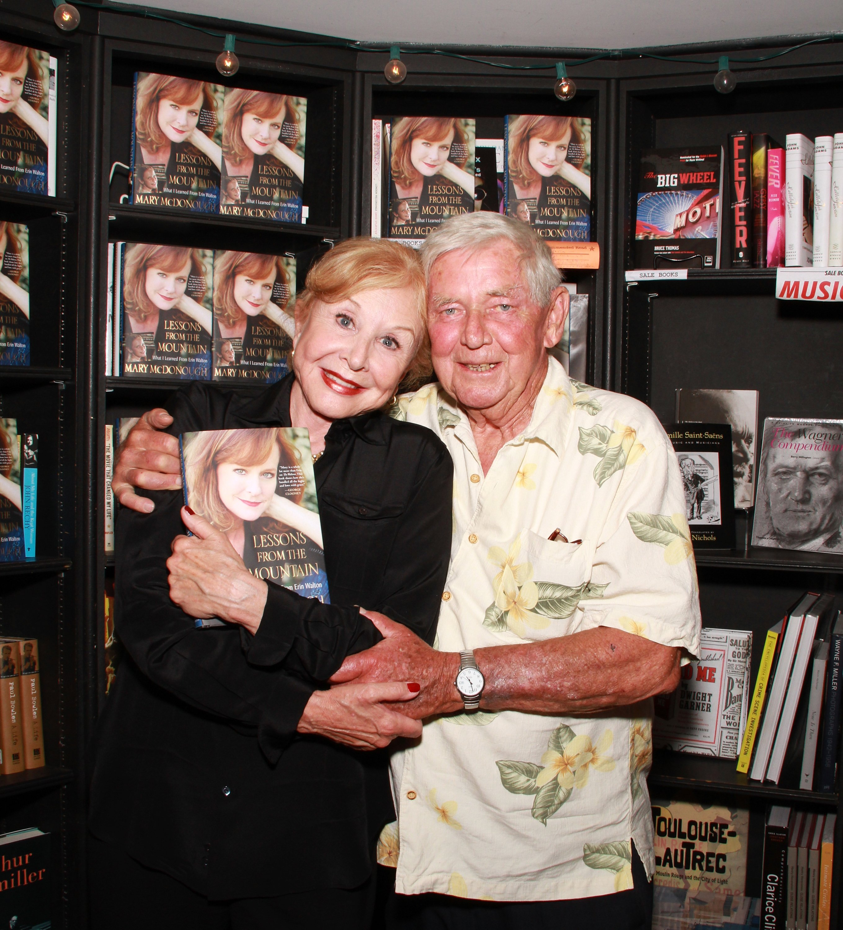Image Credits: Getty Images / Brian Putnam | Actors Michael Learned and Ralph Waite attend the signing of Mary McDonough's book 'Lessons From the Mountain: What I Learned From Erin Walton' at Book Soup on April 16, 2011 in West Hollywood, California.