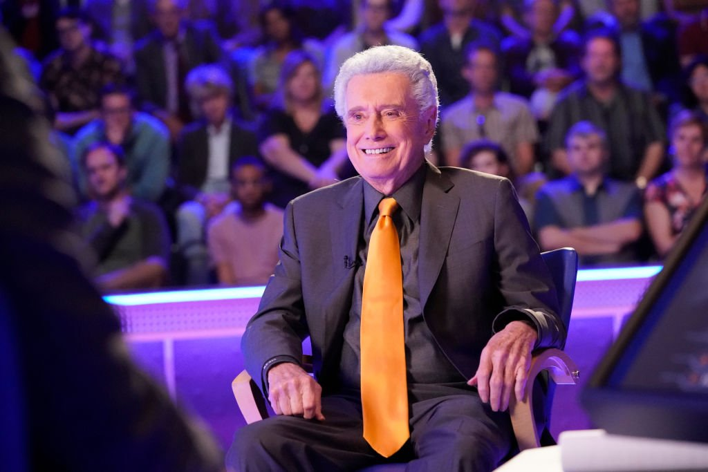 """Image Credit: Getty Images / Host Regis Philbin on the set of """"Who Wants To Be A Millionaire."""""""