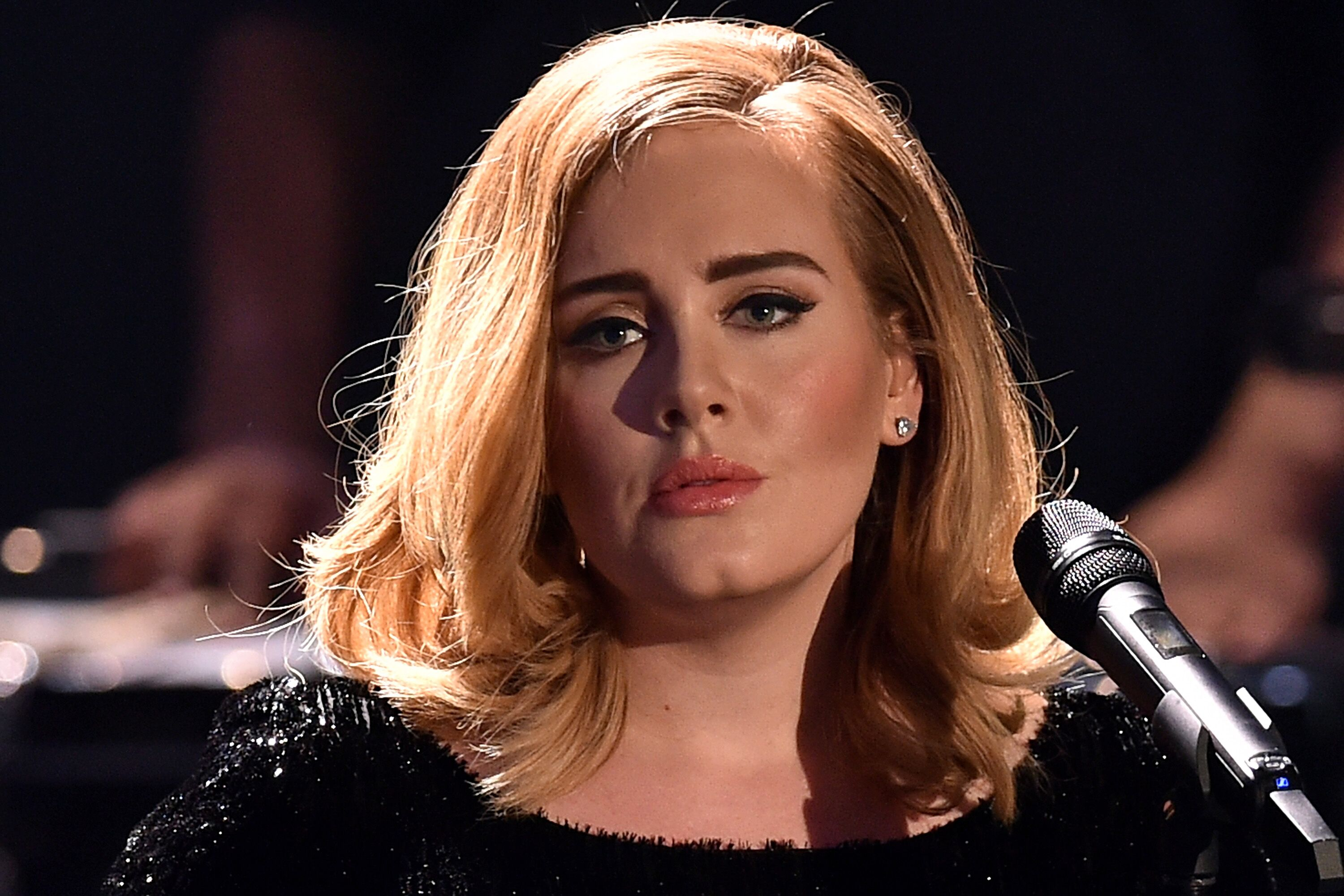 Image Credit: Getty Images / Acclaimed singer, Adele during one of her performances.