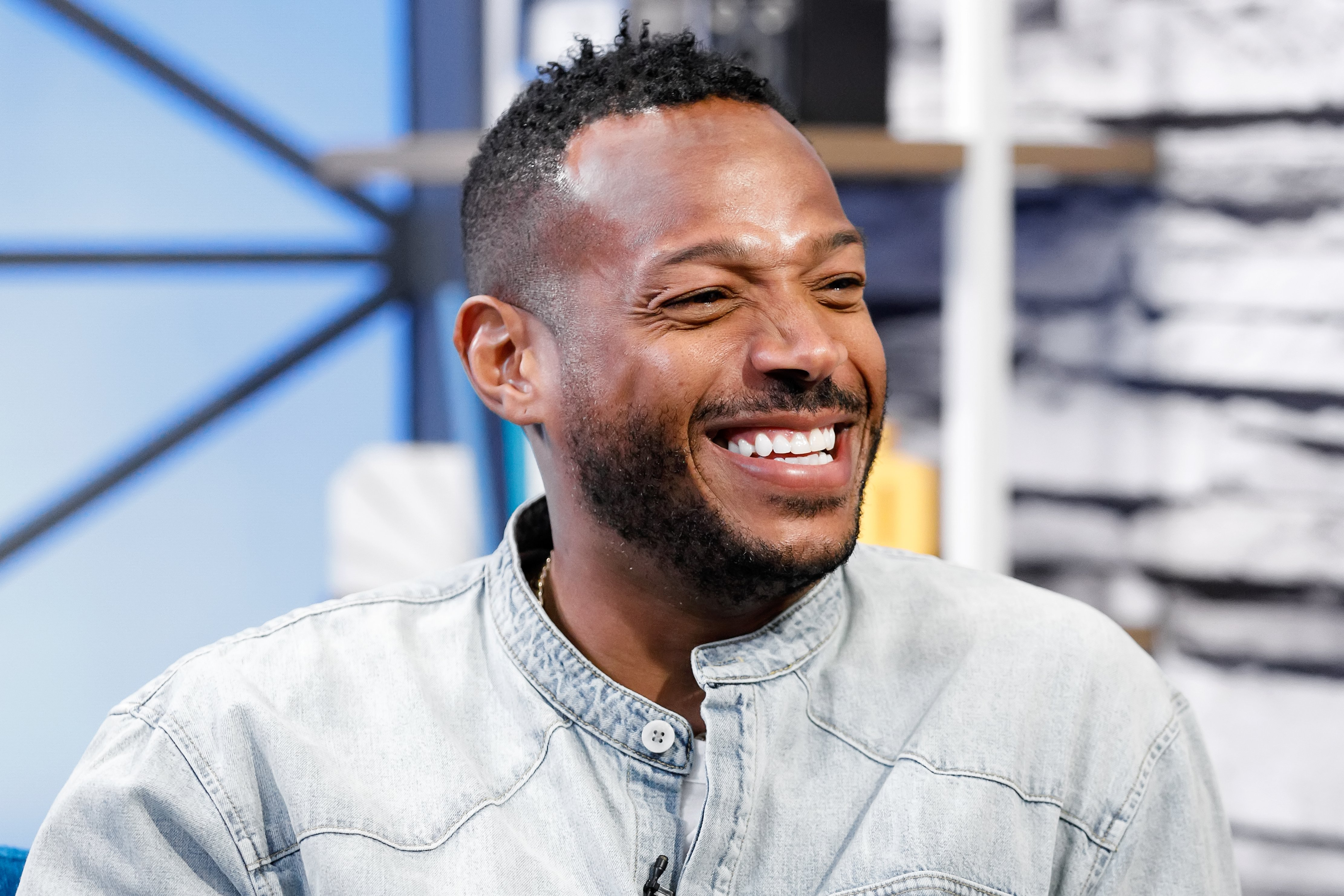 Image Credits: Getty Images / Rich Polk | Actor Marlon Wayans visits 'The IMDb Show' on July 15, 2019 in Studio City, California. This episode of 'The IMDb Show' airs on August 15, 2019.