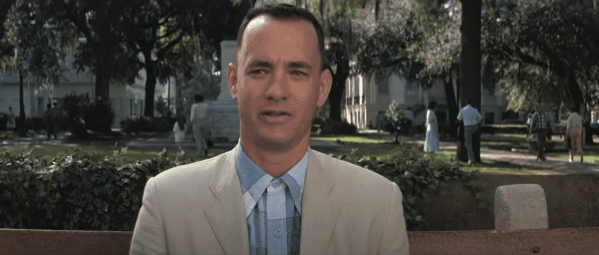 Image Source: YouTube/MovieClips - Paramount Pictures/Forrest Gump