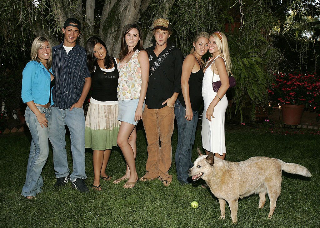 "Image Credits: Getty Images / Jason Merritt / FilmMagic | Kristin Cavallari, Stephen Colletti, Lauren Conrad and other castmembers of MTV's ""Laguna Beach: The Real Orange County""."