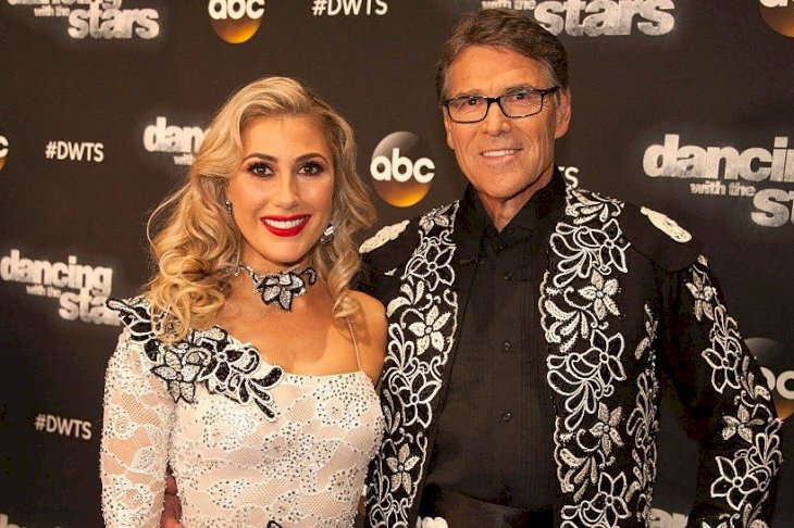 Image Credit: Getty Images/Walt Disney Television via Getty Images/Eric McCandless | Emma Slater and Rick Perry from season 23
