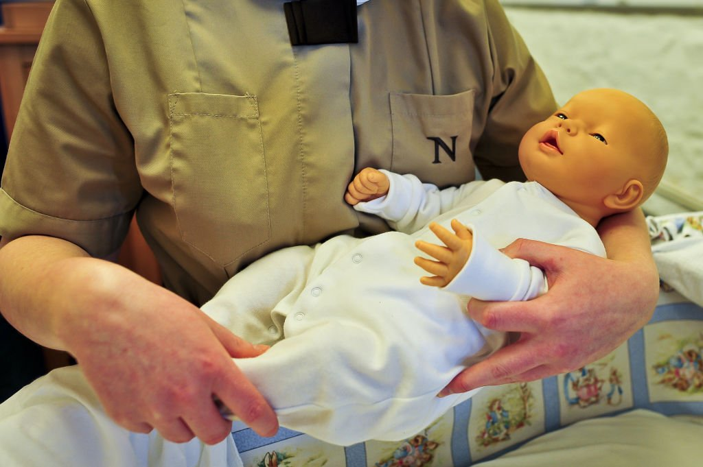Image Credits: Getty Images / Ben Birchall/PA Images  | Students train with virtual babies