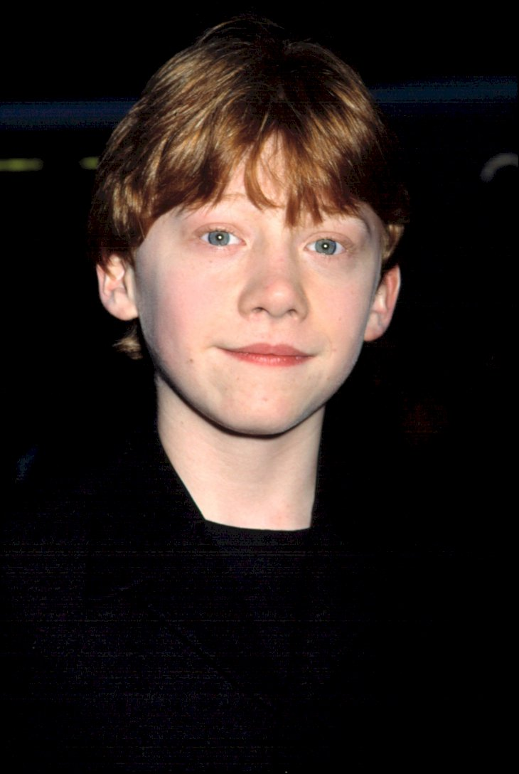 Image Credit: Shutterstock / Rupert Grint as a child star.