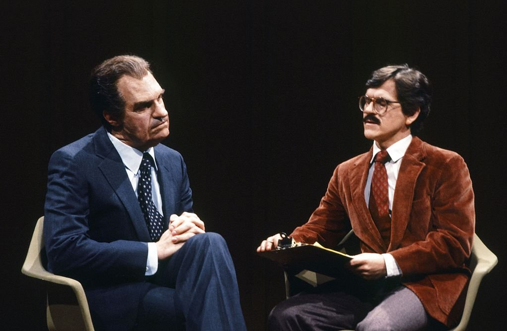 Dan Akroyd as Nixon on Saturday Night Live | Image Source: Getty Images