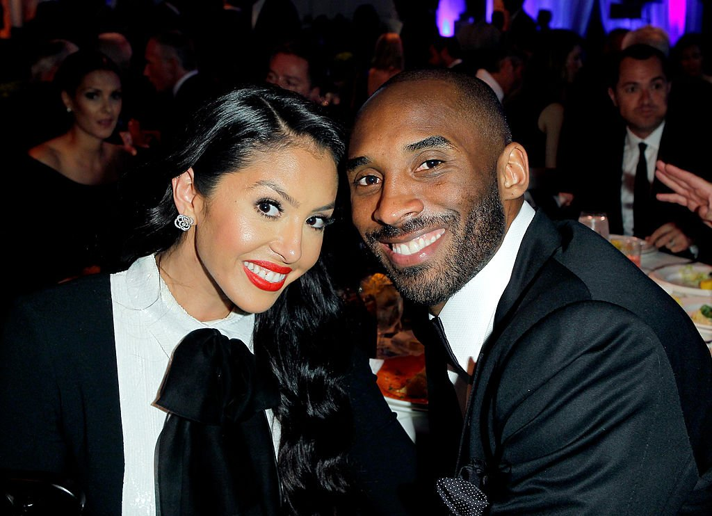 Image Credit: Getty Images / NBA player Kobe Bryant (R) and Vanessa Bryant attend an event in 2013.