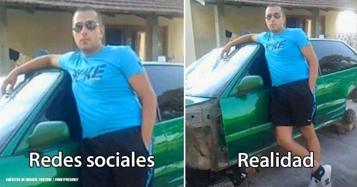 20 fotos reveladoras que demuestran que las redes sociales son una mentira en muchas ocasiones