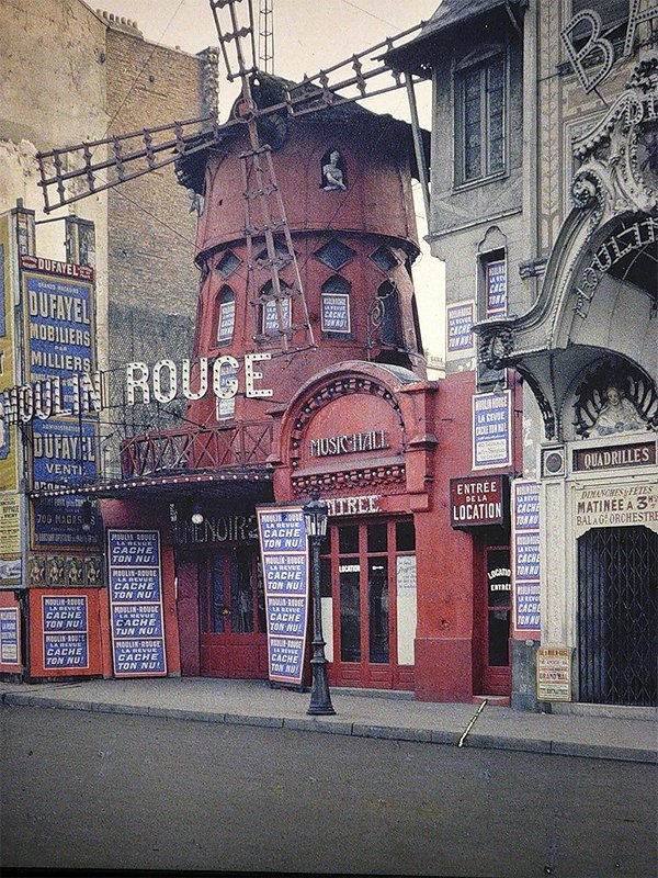 Moulin Rouge, Paris, 1914. Image Source: YouTube/DailyMail