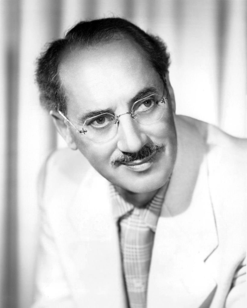 Image Credits: Getty Images / Silver Screen Collection | American comedian Groucho Marx (1890 - 1977), circa 1955.