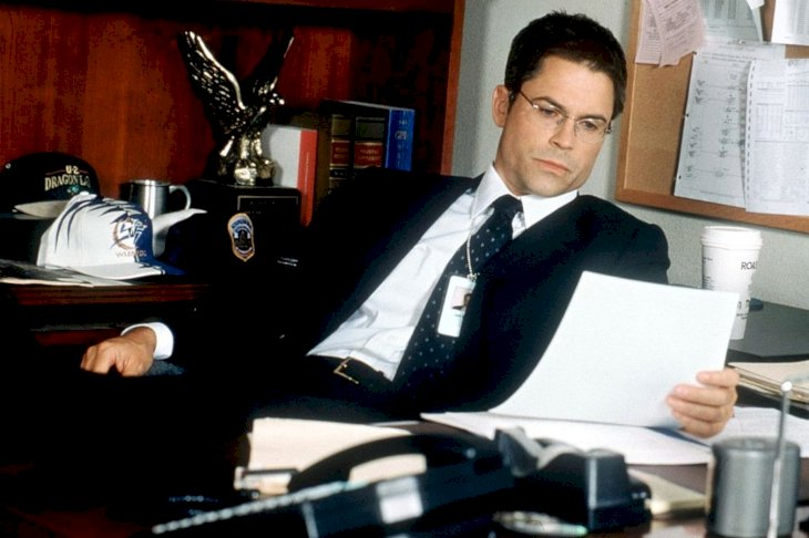 Image Credit: Getty Images/Hulton Archive | Rob Lowe On Set 1999
