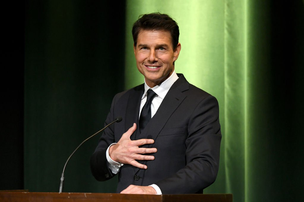 Image Credit: Getty Images / Tom Cruise speaks onstage during the 10th Annual Lumiere Awards at Warner Bros. Studios on January 30, 2019 in Burbank.