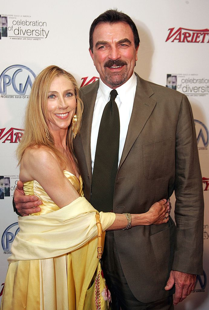 Image Credits: Getty Images | Tom Selleck with wife, Jillie