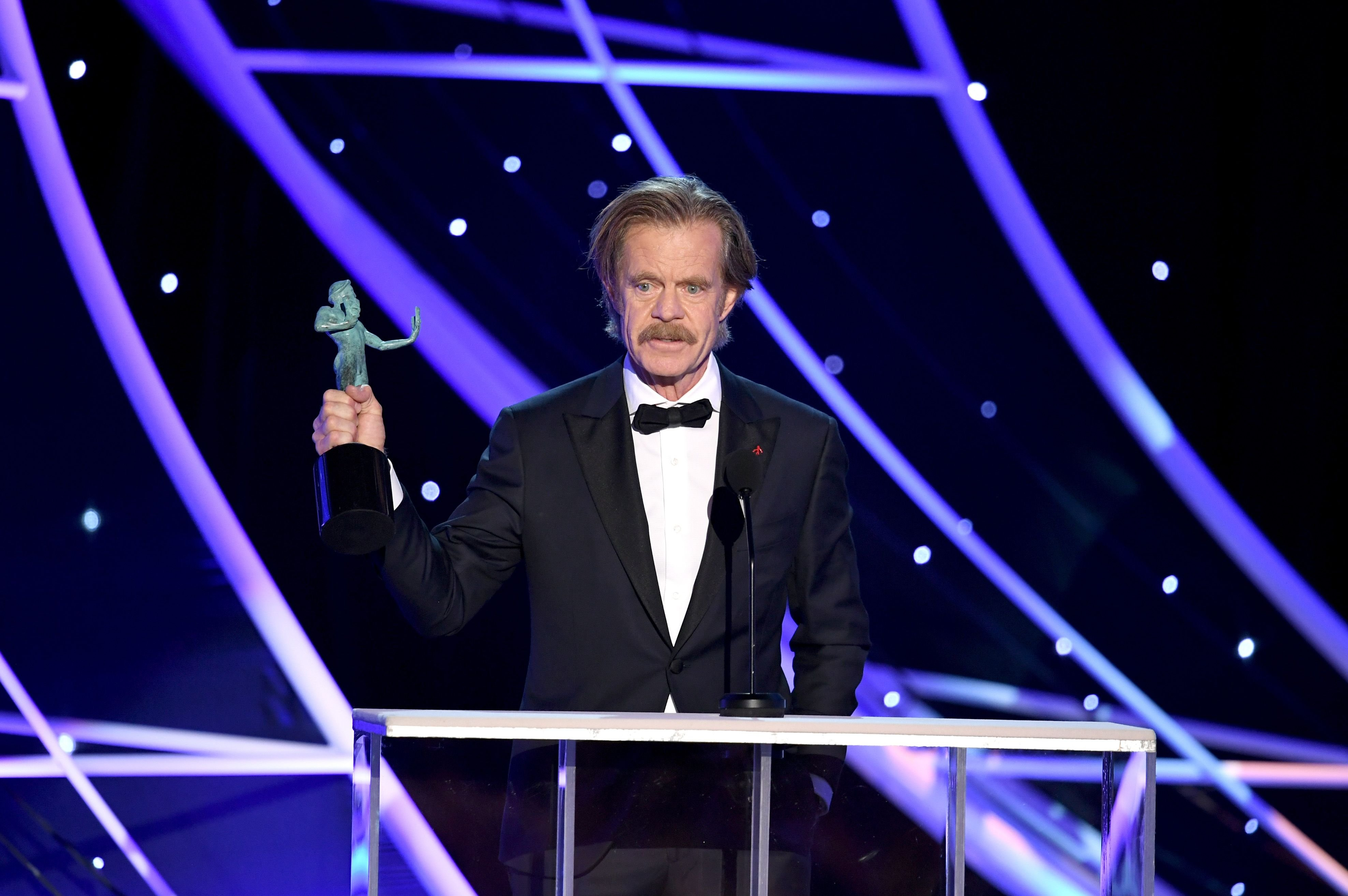 William H. Macy at the 24th Annual Screen Actors Guild Awards  / Getty Images