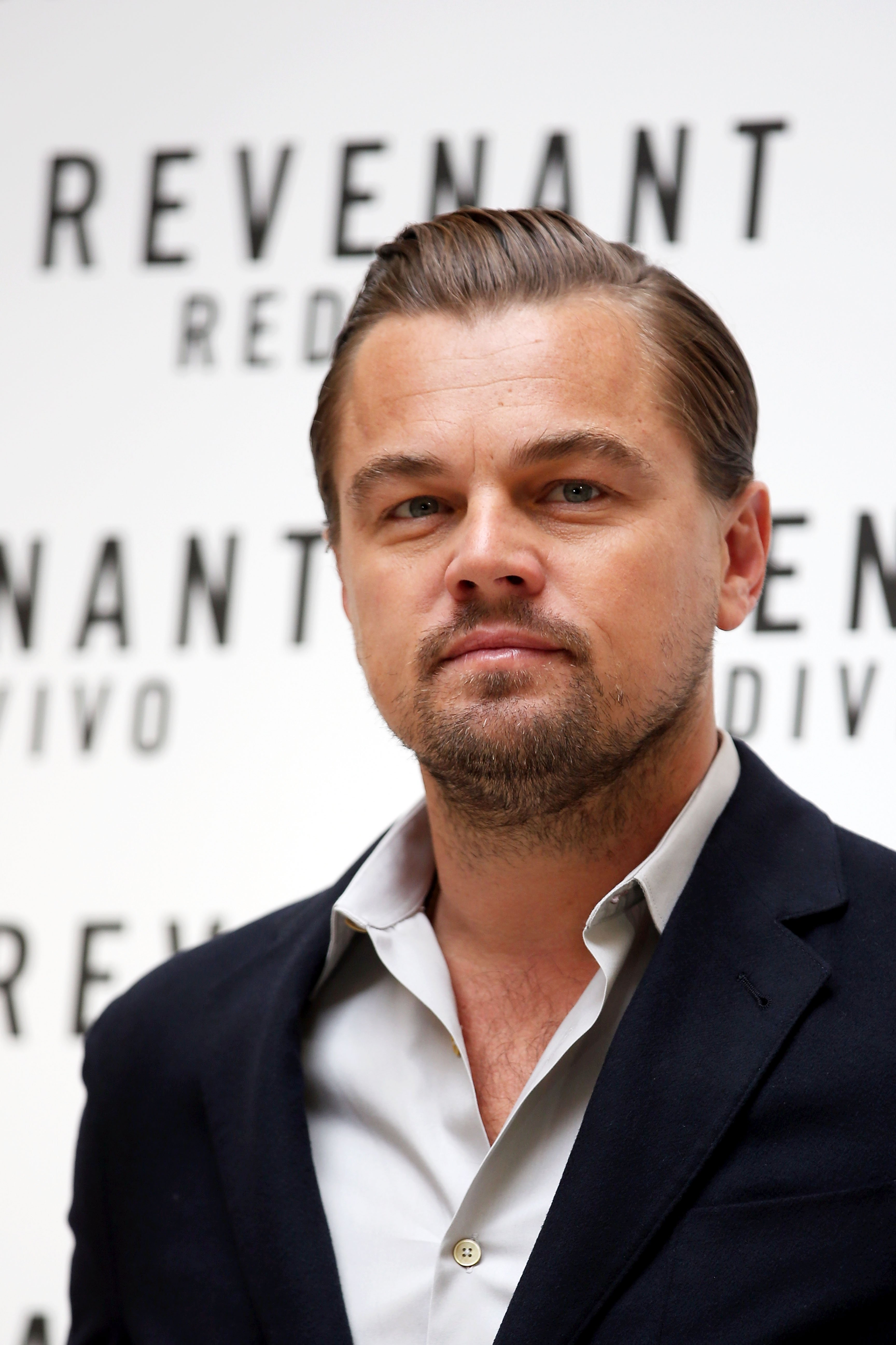 Image Source: Getty Images/Leonardo at a event of his movie: The Revenant