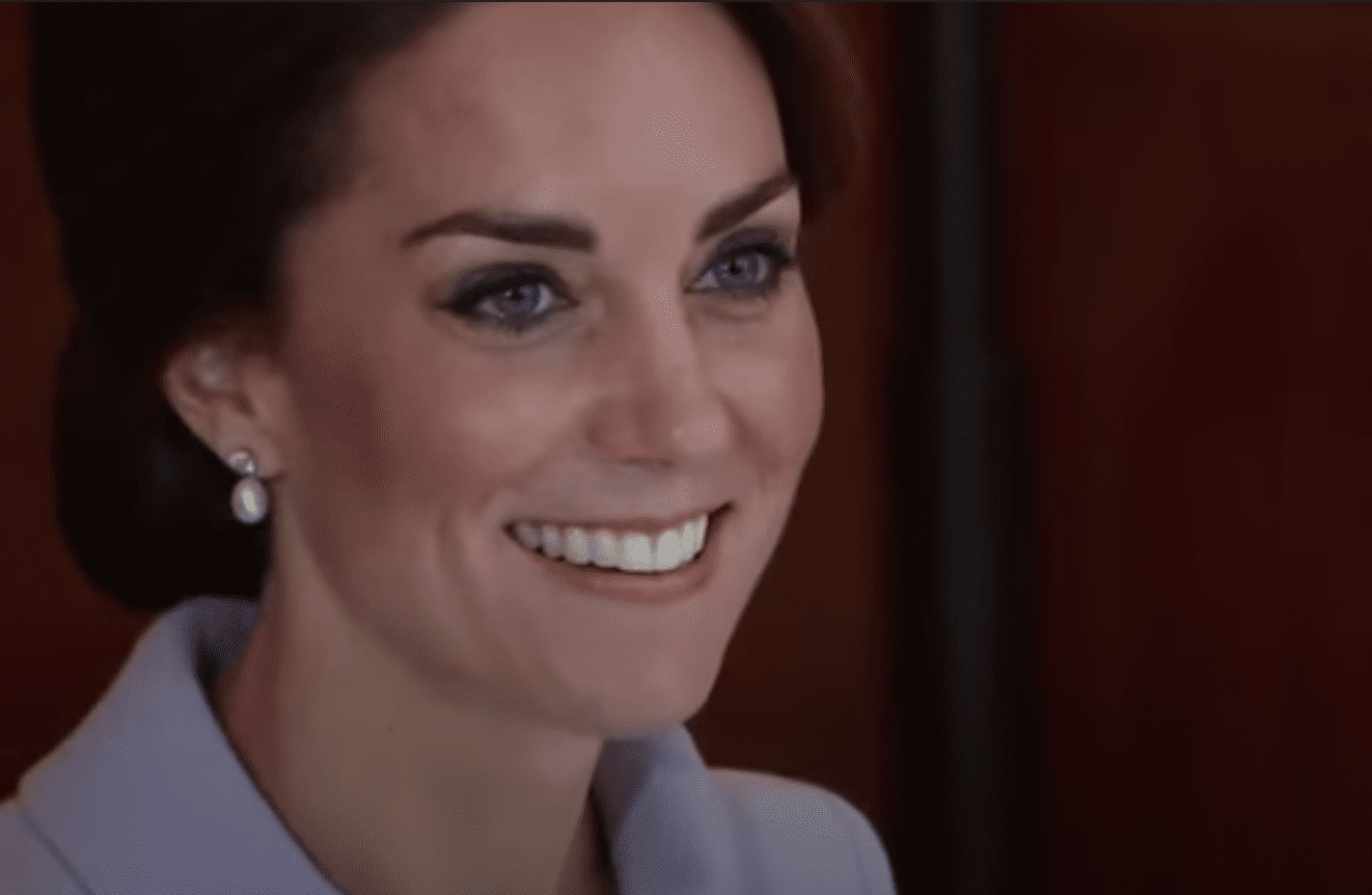 Image Source: Youtube/AP Archive| Kate visiting her charities in the Netherlands