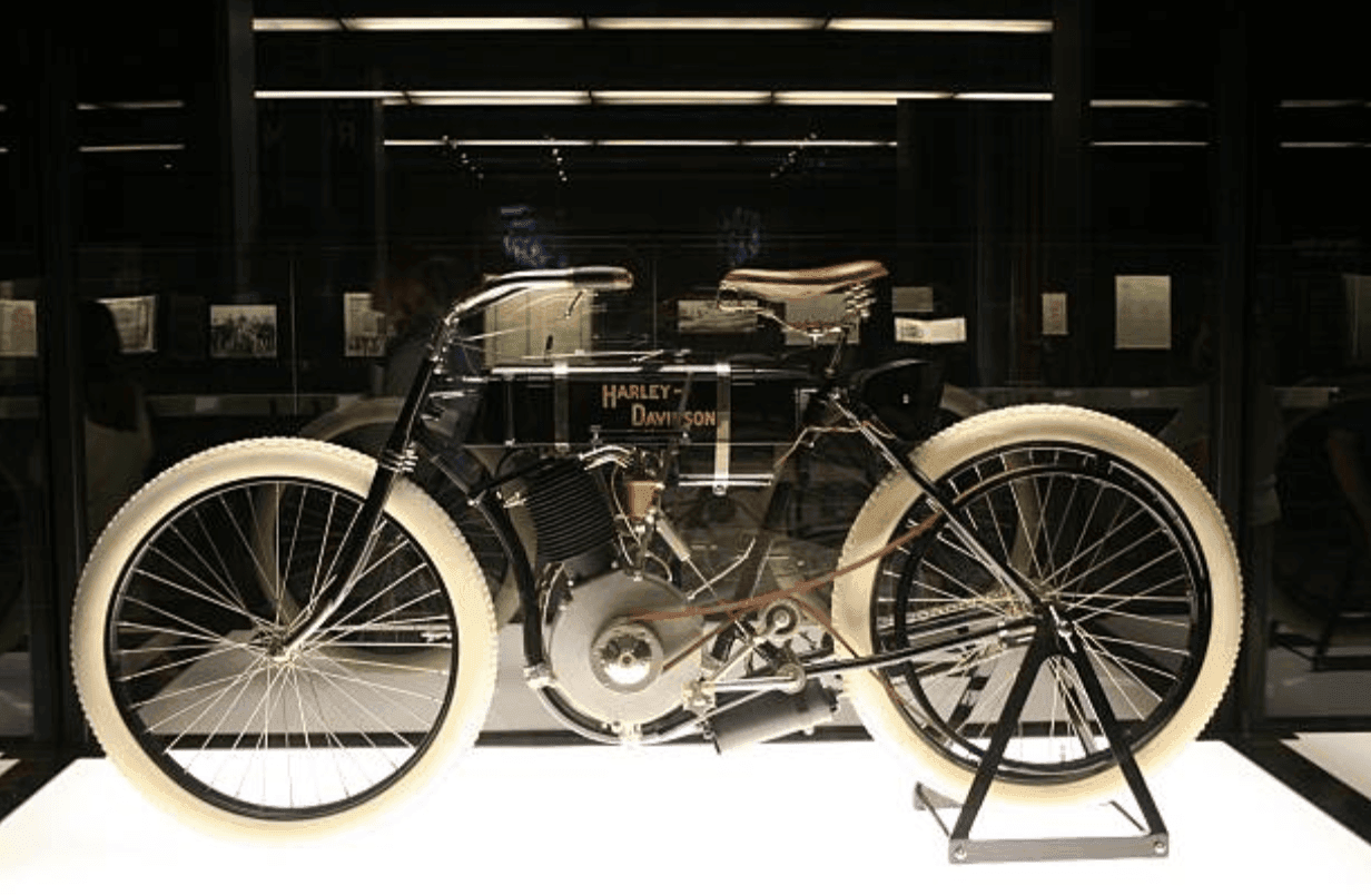 Harley-Davidson, no.1 from 1903. Image Credit: Getty Images