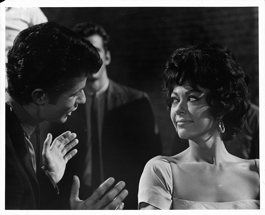"Image Credits: Getty Images / United Artists | Moreno on a scene from ""West Side Story"""