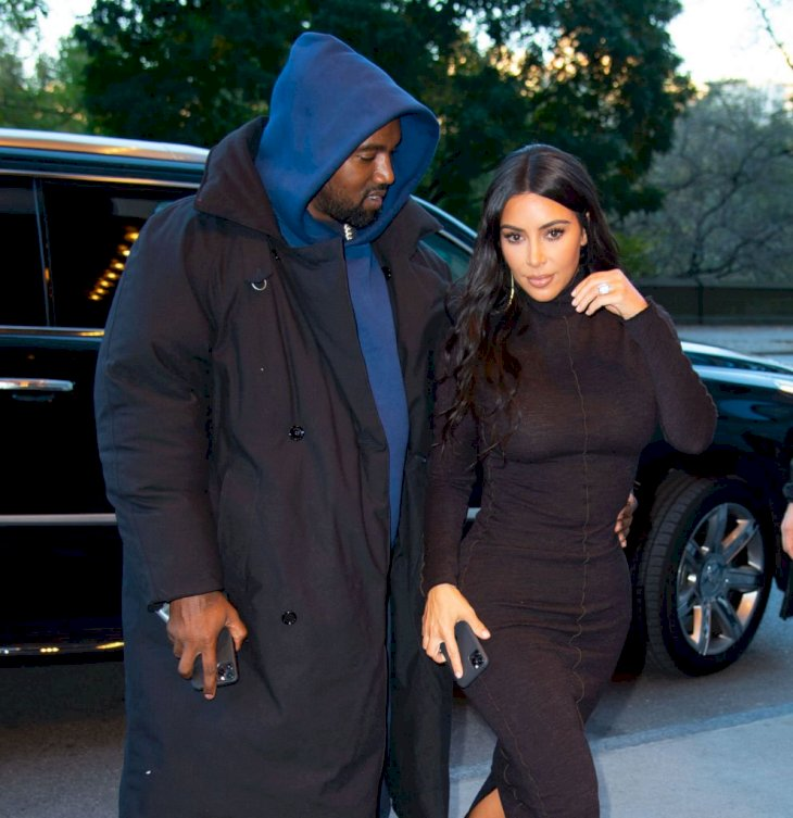 Image Credit: Getty Images / Kim and Kanye are spotted in New York City.