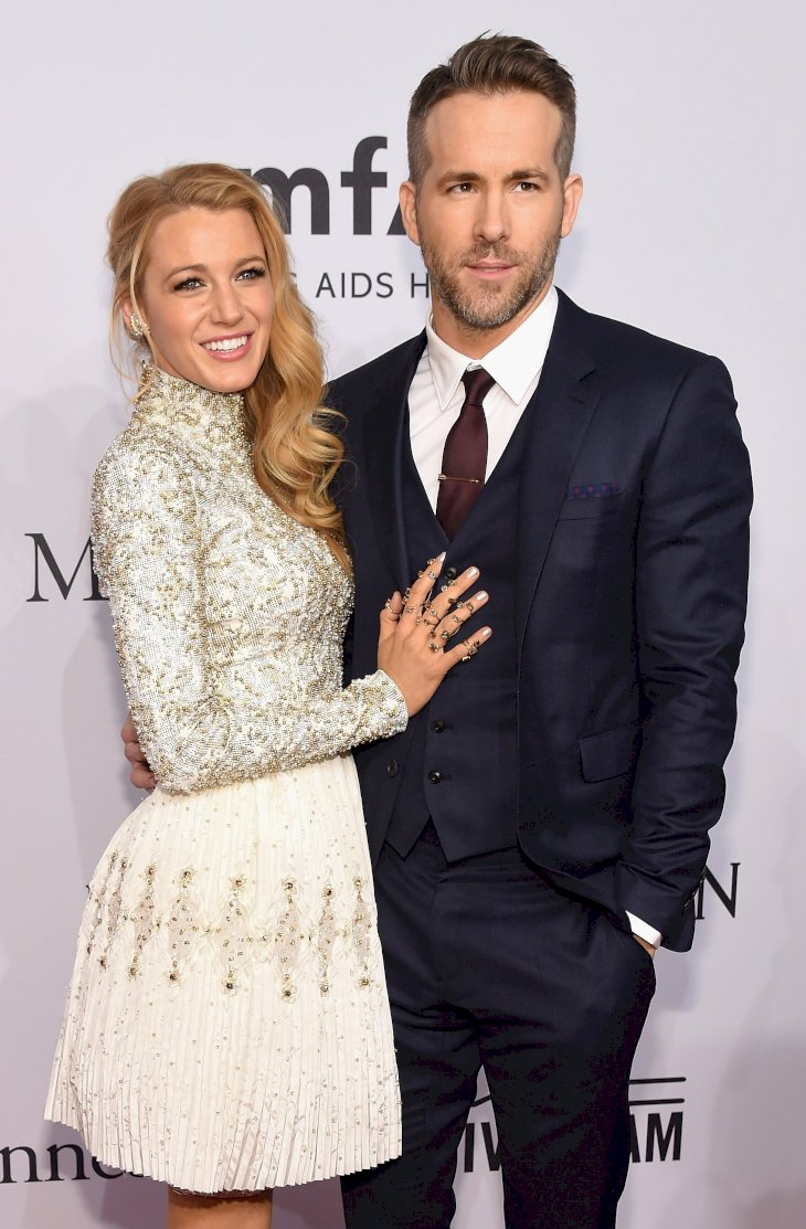 Image Credit: Getty Images / Ryan Reynolds with his wife, Blake Lively.