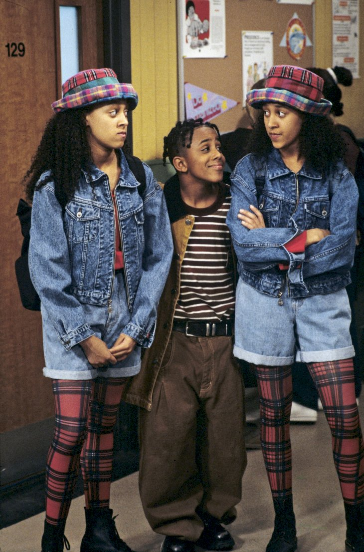 Image Credit: Getty Images / Tia and Tamera Mowry with Marques Houston.