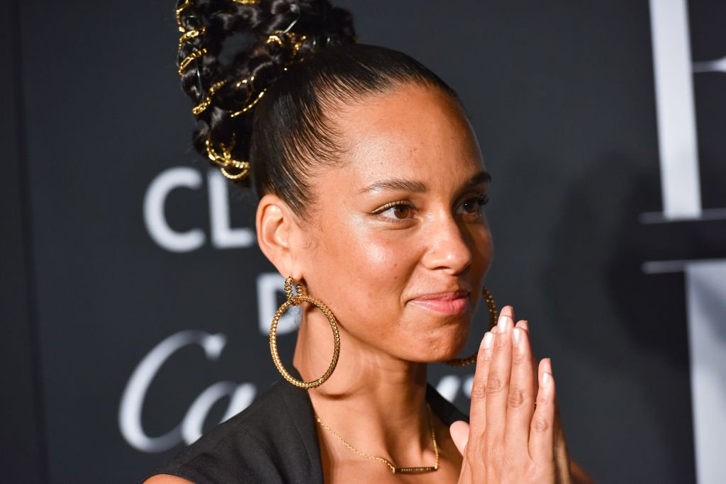 "Image Credit: Getty Images / Alicia Keys attends Harper's BAZAAR Celebrates ""ICONS By Carine Roitfeld"" Presented By Cartier at The Plaza Hotel on September 06, 2019."
