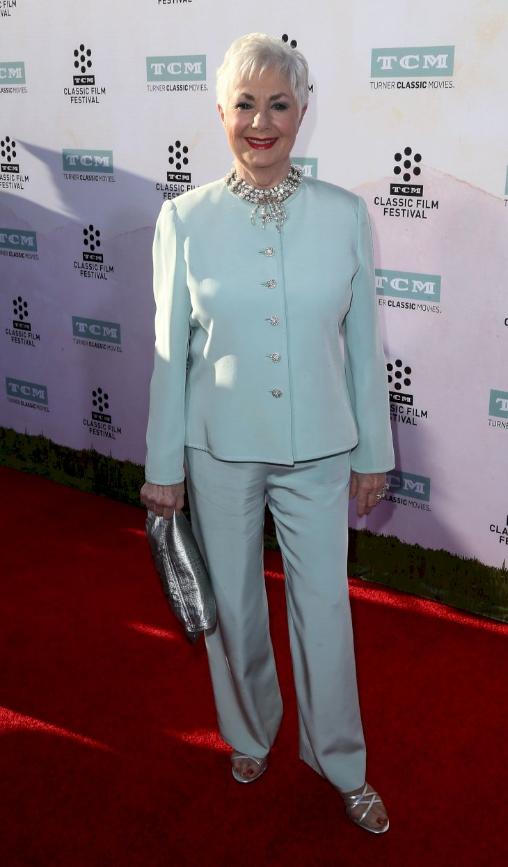 Image Credit: Getty Images / Shirley Jones on the red carpet.