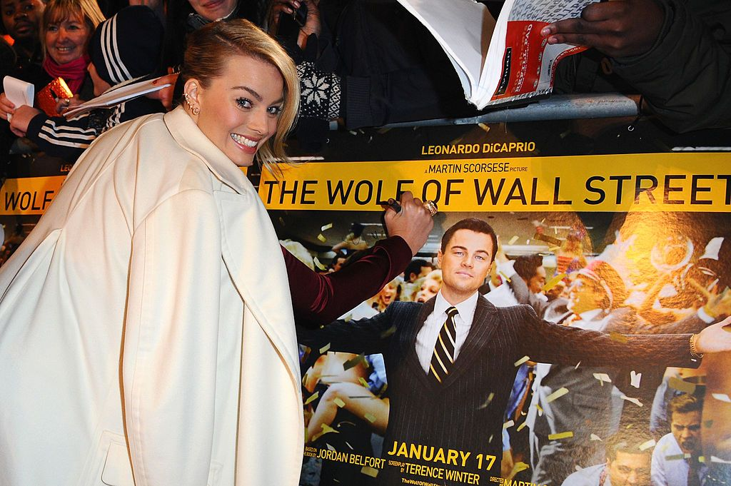 Margot Robbie attending the UK The Wolf Of Wall Street Premiere/Photo:Getty Images