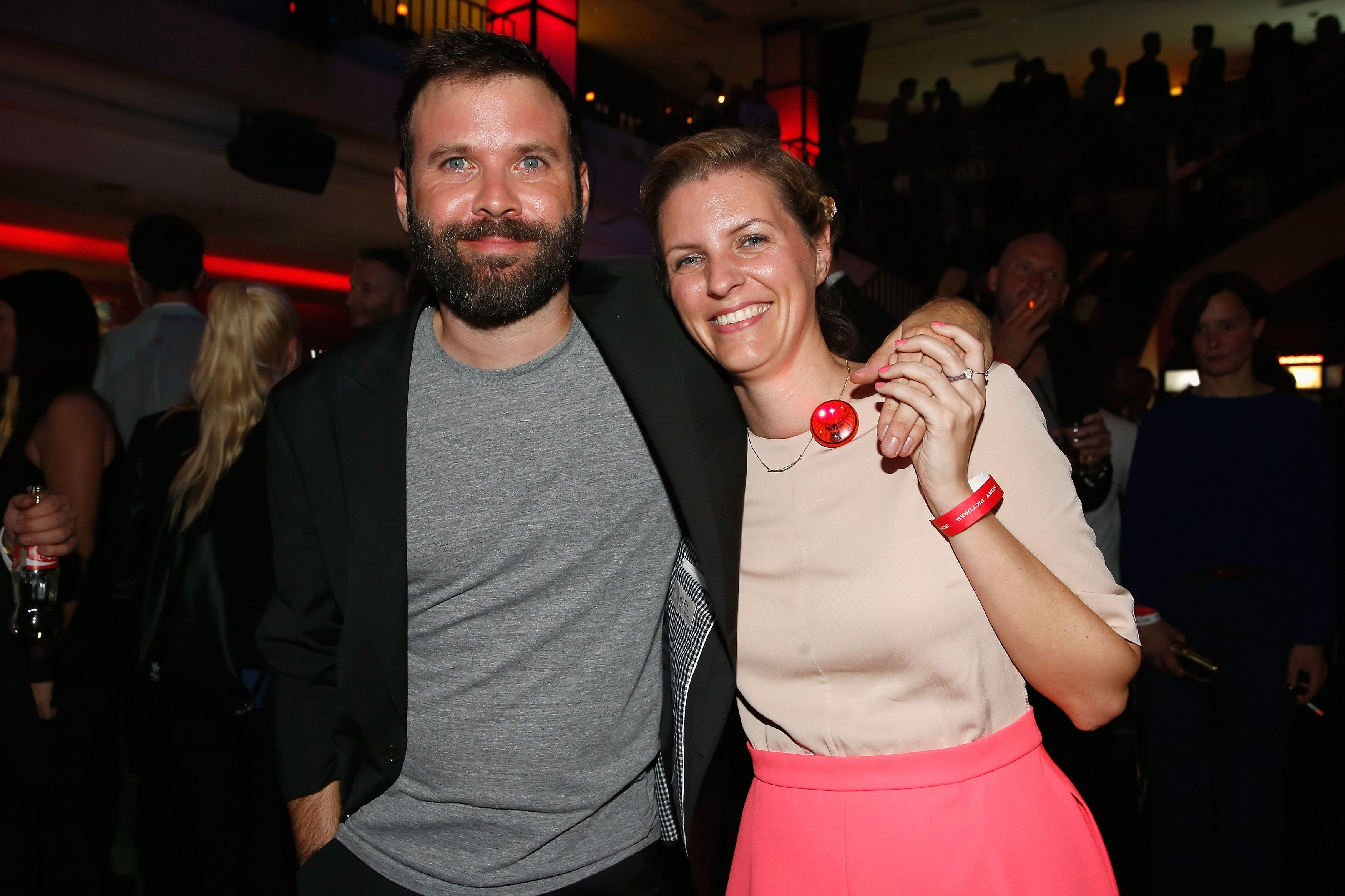 Baran bo Odar and Jantje Friese attend the 'Who am I' after premiere party in Berlin / Photo: Getty Images