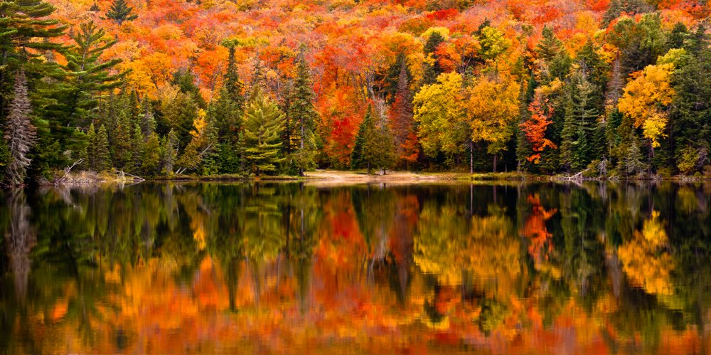 Canisbay Lake, Algonquin Provincial Park, Ontario, Canada | Shutterstock