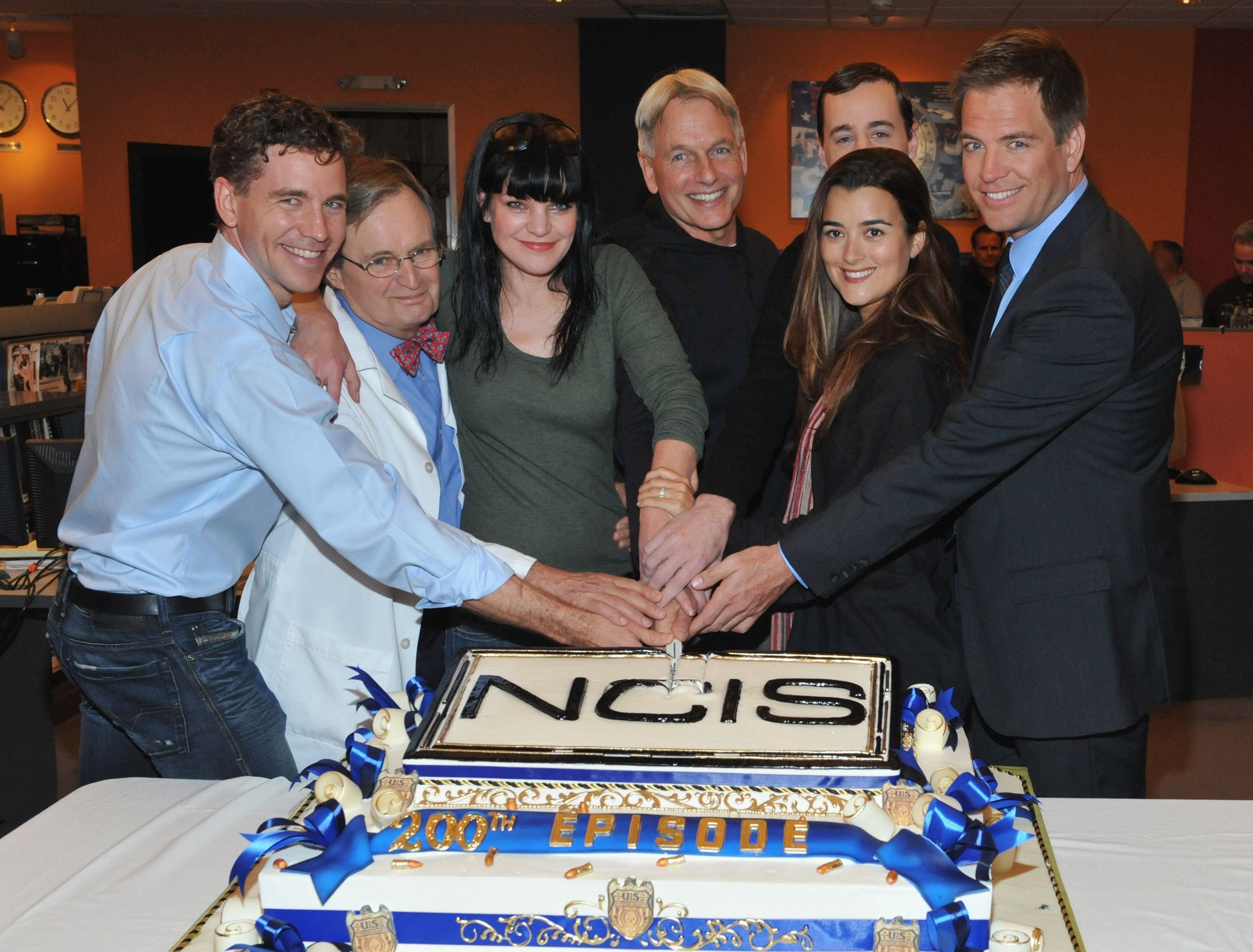 The cast members of NCIS / Getty Images