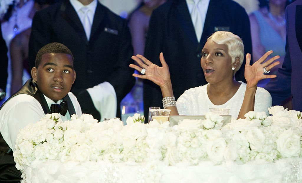 Image Source: Getty Images/NBCU Photo Bank/NBCUniversal via Getty Images/Bravo/Wilford Harewood | Brentt and Nene at I Dream of NeNe Wedding
